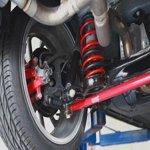 4WD suspensions